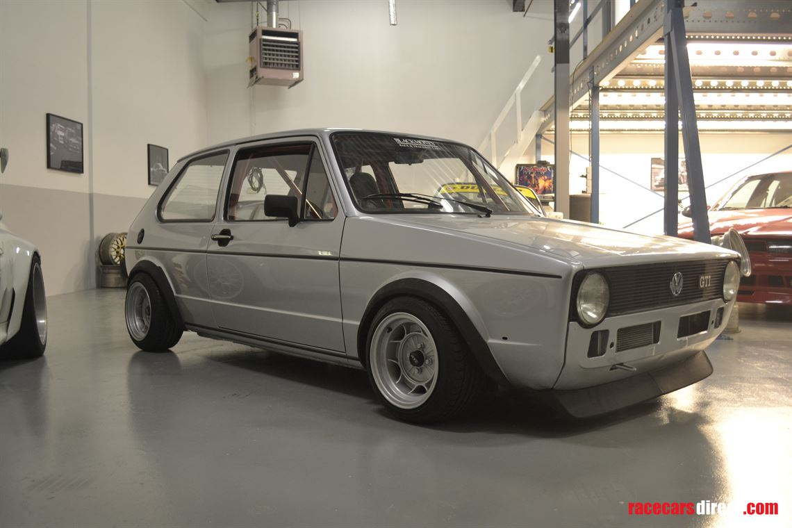 Vw Golf Mk1 Gti 1979 Vw Motorsport Blackmoney Racing